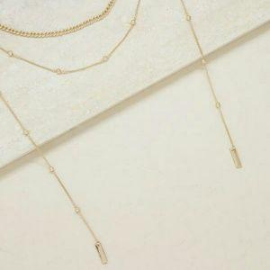 "Ettika ""That New Feeling "" layered Necklace"